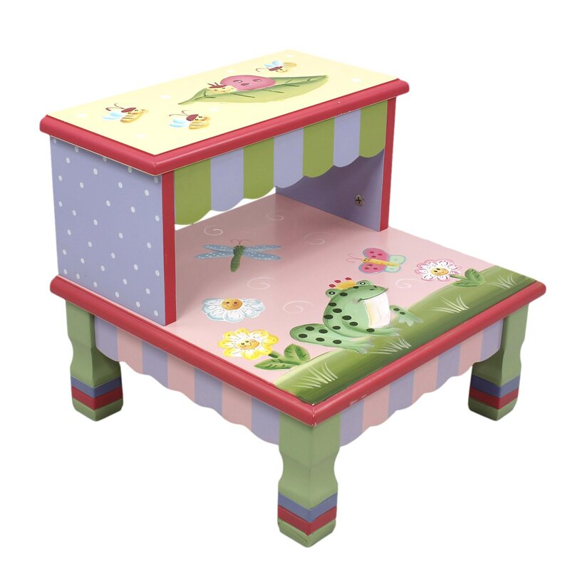 Magic Garden Step Stool  sc 1 st  Wayfair & Kidsu0027 Step Stools islam-shia.org