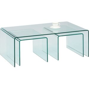 Nested Coffee Table by Chintaly Imports