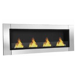 Moda Flame Wraith Ventless Wall Mount Bio-Ethanol Fireplace ...