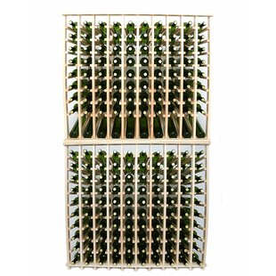 Premium Cellar Series 200 Bottle Floor Wine Rack