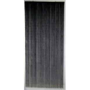 Reece Bamboo Beaded Single Curtain Panel
