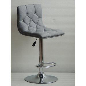Ahart Adjustable Height Swivel Bar Stool by Ivy Bronx