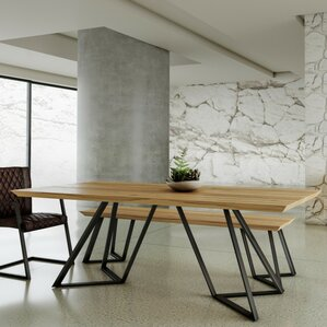 Roslyn Drift Wooden Dining Table by Trent Austin Design