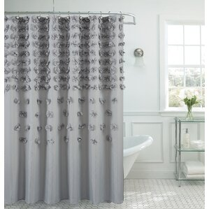 beige and gray shower curtain. Hornyak Shower Curtain Gray  Silver Curtains You ll Love Wayfair