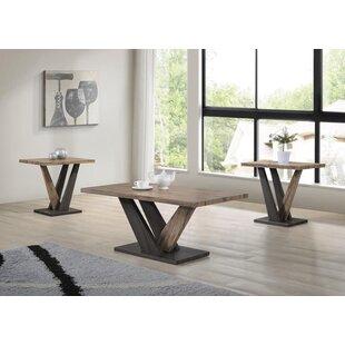 Valazquez 3 Piece Coffee Table Set