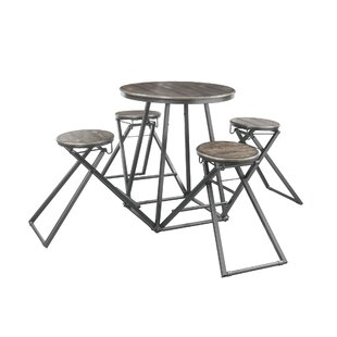 Branham 5 Piece Counter Height Dining Set