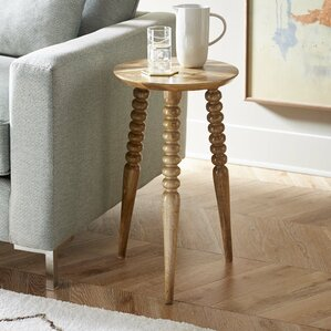 Vlissingen End Table by Bungalow Rose