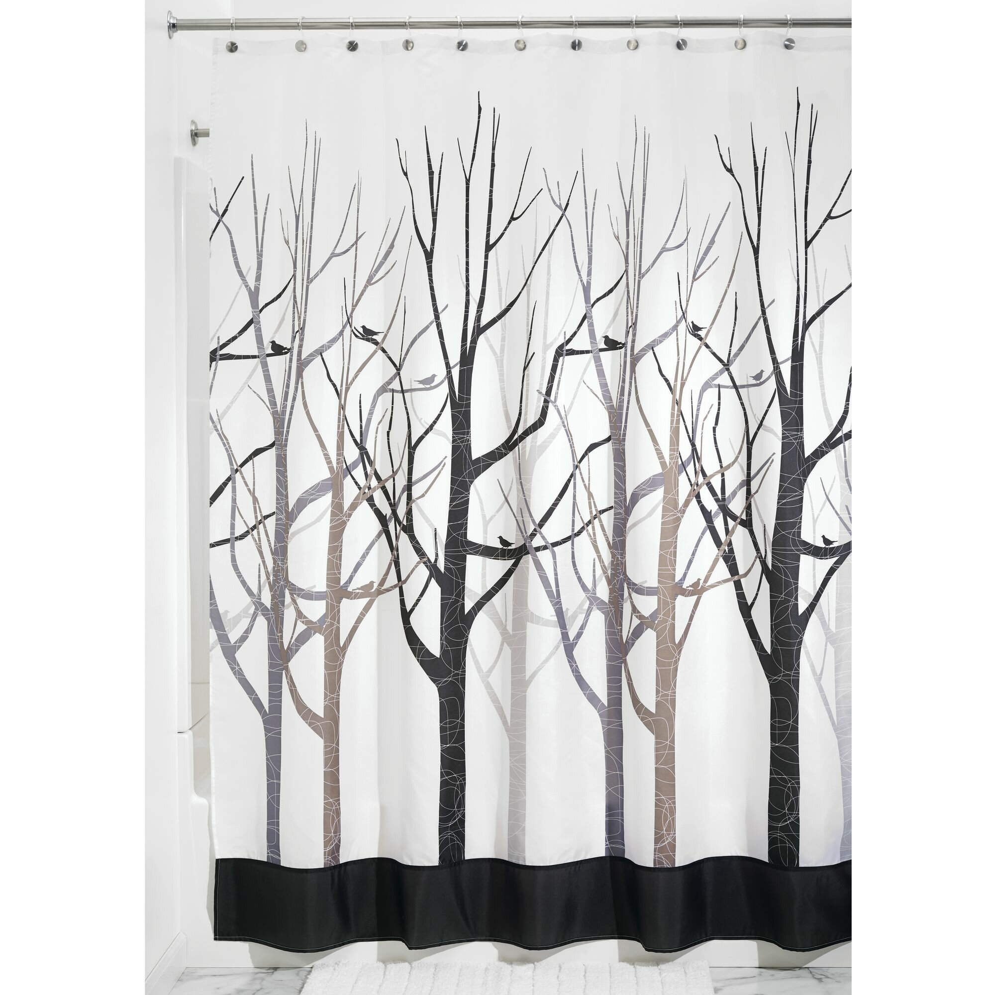 InterDesign Forest Shower Curtain Reviews
