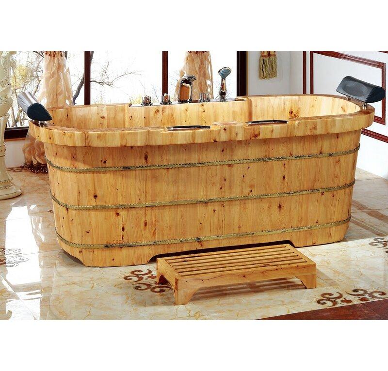 Alfi Brand 2 Person Cedar Wooden 65\