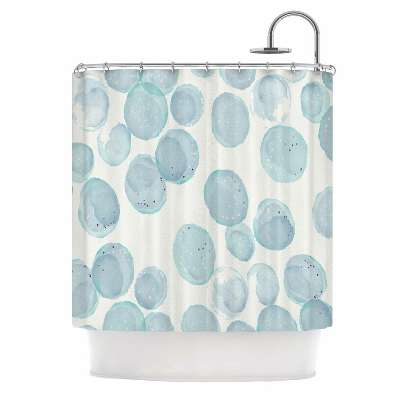 East Urban Home Pebbles Shower Curtain