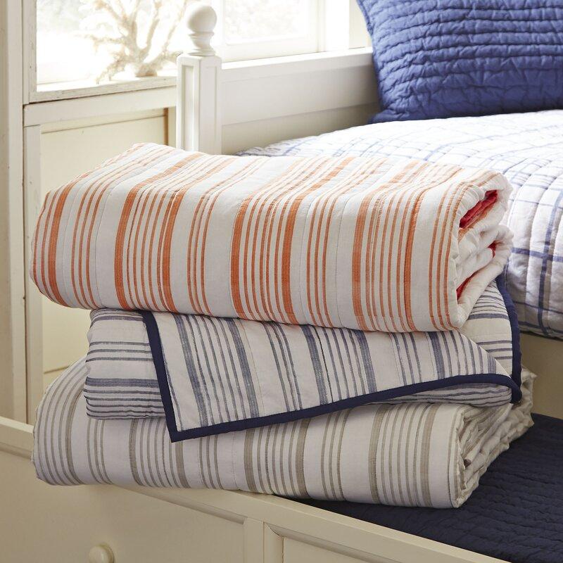 Captivating Dillon Striped Quilt
