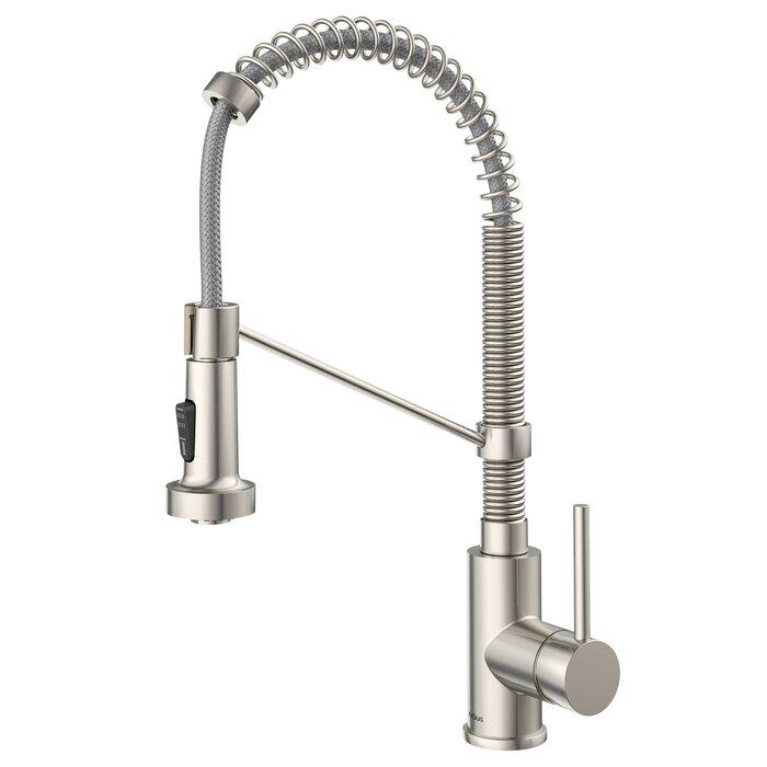 Enjoyable Bolden Series Pull Down Single Handle Kitchen Faucet Interior Design Ideas Gentotthenellocom