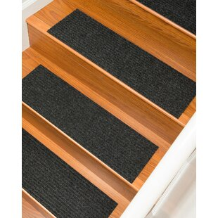 Bayless Charcoal Stair Tread Set Of 13