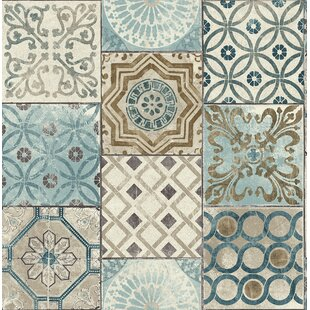 Cormier Moroccan Tile 18 L X 205 W Peel And Stick Wallpaper Roll