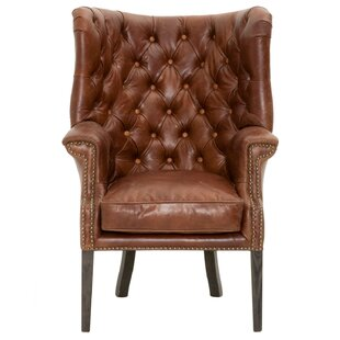 Fonteyne Wingback Chair  sc 1 st  Wayfair : wing chairs leather - Cheerinfomania.Com