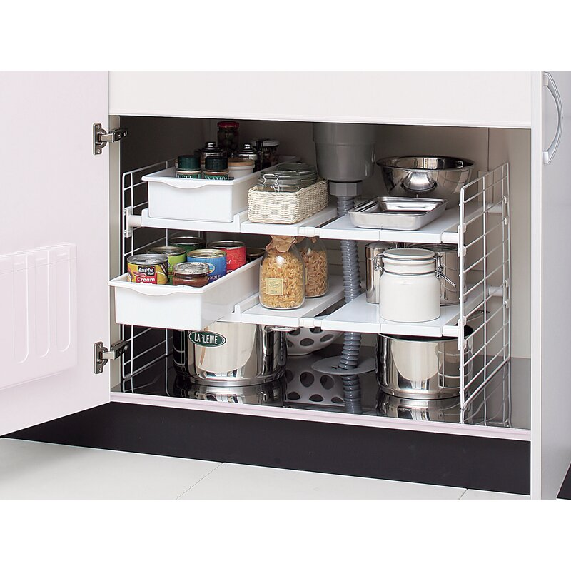 The Ideal Kitchen Under Sink Drawers: IRIS Under-Sink Multi-Drawer Organizer & Reviews