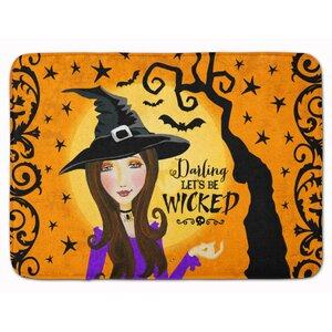 Halloween Wicked Witch Memory Foam Bath Rug