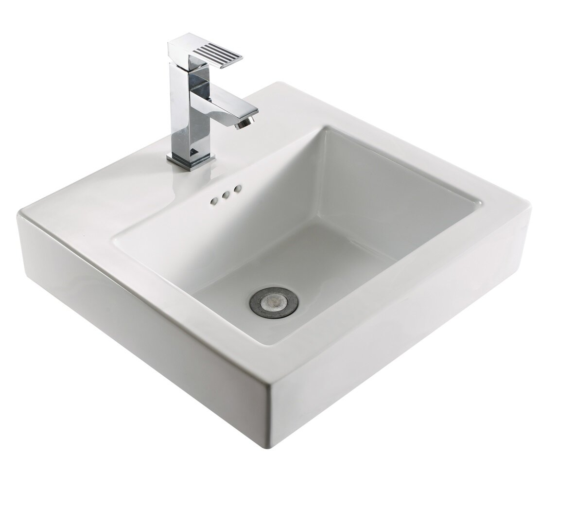 Ivy Bronx Arverne Stainless Steel Open Console 18\