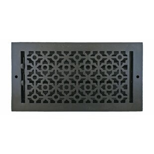 7 5 X 13 Pasadena Wall Register In Black