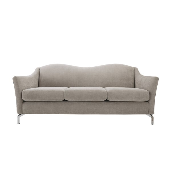 Everly Quinn Alrai Camel Back Sofa & Reviews