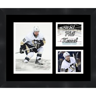 Pittsburgh Penguins Phil Kessel 81 Photo Collage Framed Photographic Print