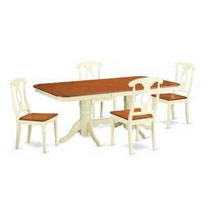 Napoleon 5 Piece Dinning Set by East West Furniture