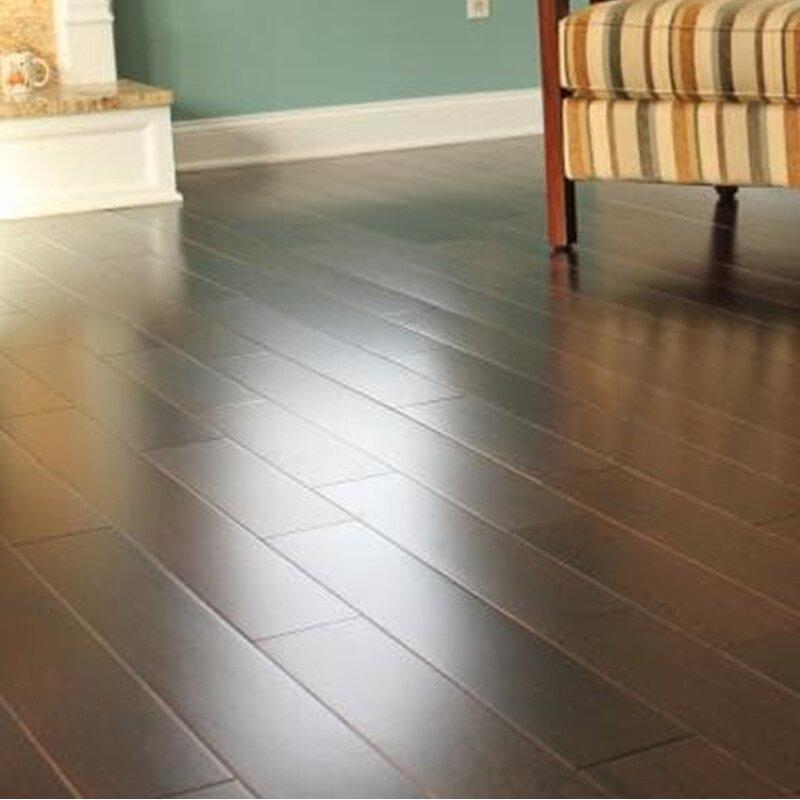 Welles Hardwood Ashton 5 Solid Teak Hardwood Flooring In Espresso