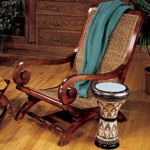 British Plantation Armchair by Design Toscano