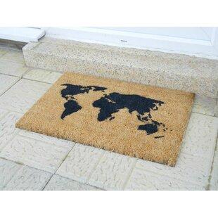 Grey world map wayfair world map doormat gumiabroncs Choice Image