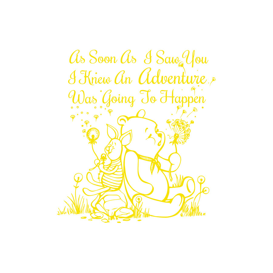 Decal House Quote Winnie the Pooh Wall Decal | Wayfair