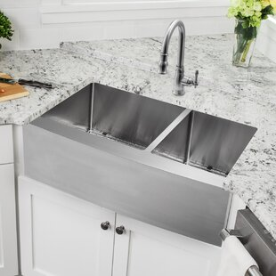 Drop In Farmhouse Kitchen Sink Drop in apron front sink wayfair save to idea board workwithnaturefo