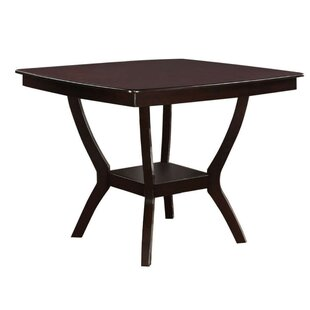 Ruddell Wooden Counter Height Dining Table Savings