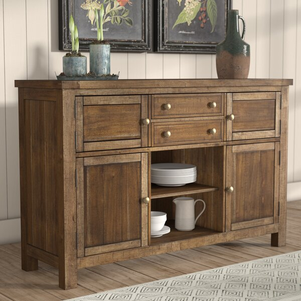 dining room furniture buffet wood credenza for dining room wayfair