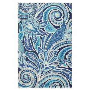 Eden Hand-Tufted Blue Area Rug