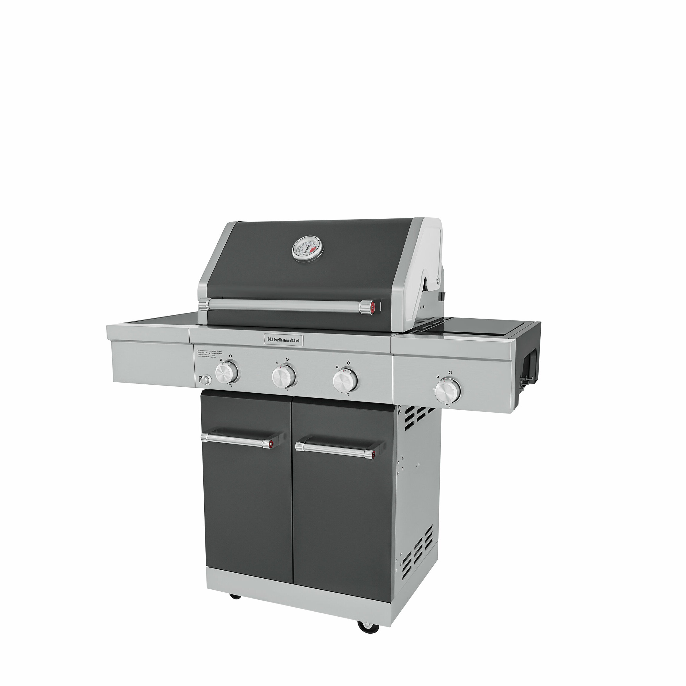 3 Burner Convertible Gas Grill