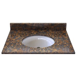 Natural Stone 31 Single Bathroom Vanity Top