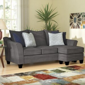 Teri Sectional Collection by Simmons Upholstery : sectional gray sofa - Sectionals, Sofas & Couches