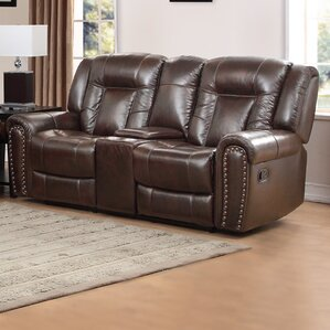 Mustang Reclining Sofa by Avalon Furniture