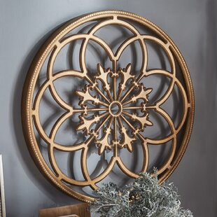 Elegant Round Medallion Wall Decor | Wayfair