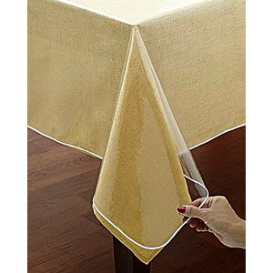 Bath Spill Safe Super Protector Round Tablecloth