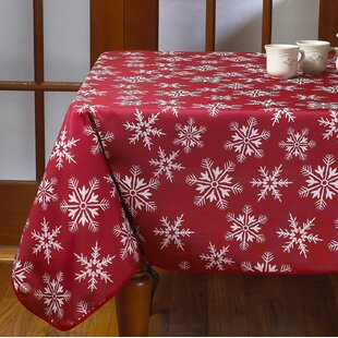 Decorative Christmas Tablecloth