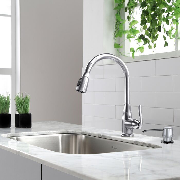 sink and kraus with bowl faucets dp dispenser farmhouse steel kitchen soap single stainless faucet finish