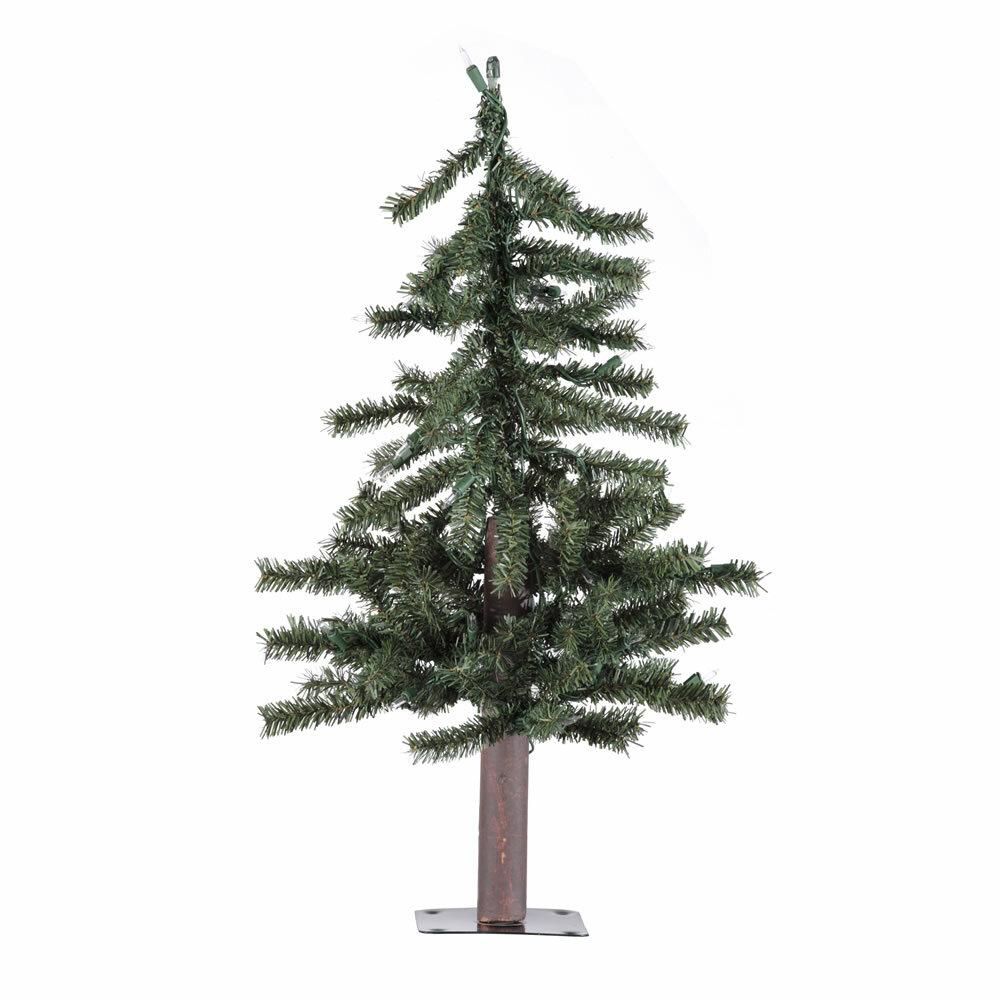 Die Saisontruhe Künstlicher Weihnachtsbaum 61 cm Grün mit Ständer ...