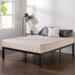 quick lock platform bed frame mattress foundation