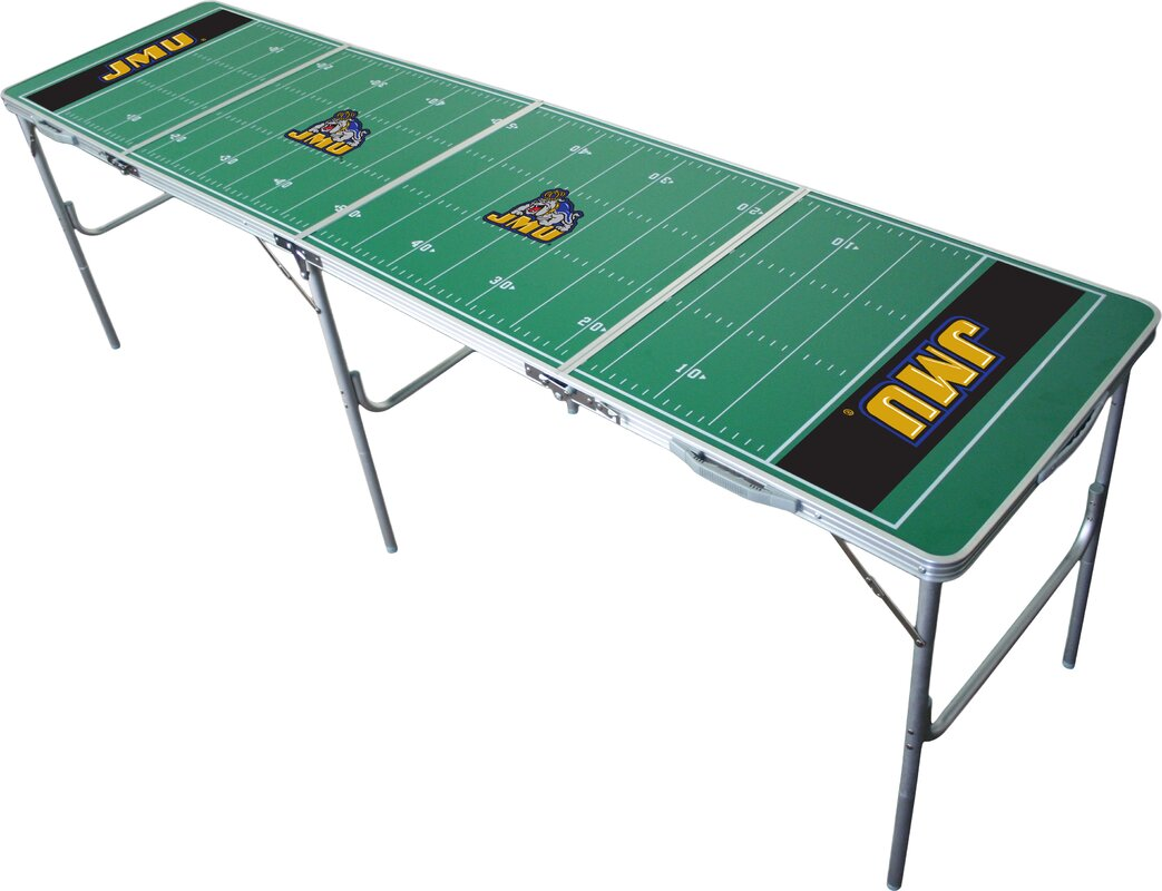 Tailgate Toss NCAA 2' X 8' Tailgate Table & Reviews