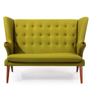 Bear Wegner Papa Wing Loveseat by Kard..