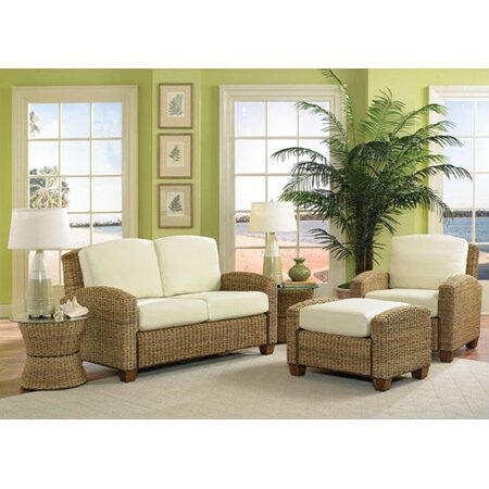 Home Styles Cabana Banana 3 Piece Living Room Set