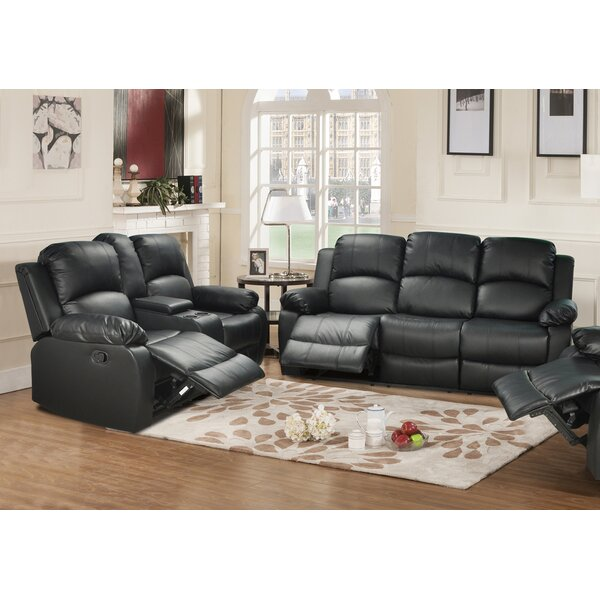 Red Barrel Studio Mayday 2 Piece Leather Living Room Set Reviews