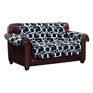 Margret Reversible Box Cushion Loveseat Slipcover