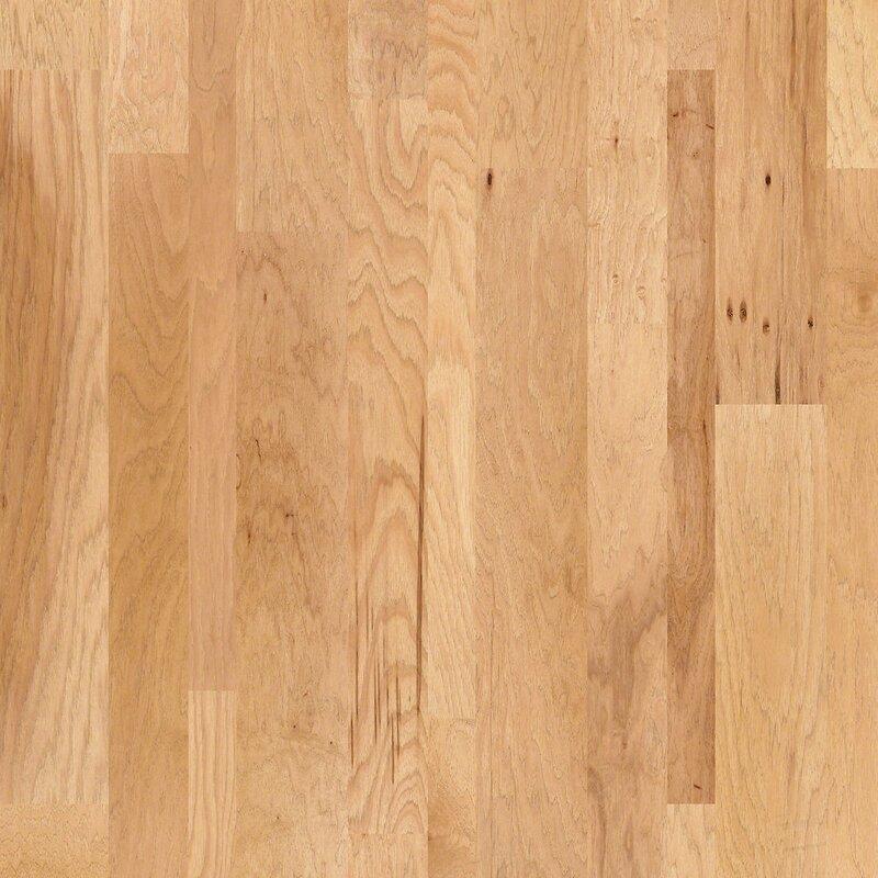 Shaw Floors Hastings Random Width Engineered Hickory Hardwood